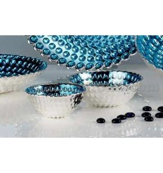 GIOTTO TURQUOISE SILVER BOWL 11 CM 999/1000
