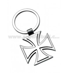 MILITARY CROSS KEY RING