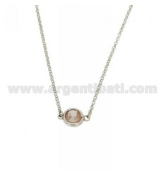 COLLIER CAMEO IN ABOUT 10 MM AG RHODIUM TIT 925 ‰ 45 CM