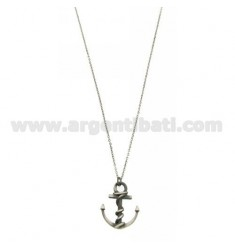 NECKLACE 50 CM WITH STILL IN SILVER BRUNITO TIT 925