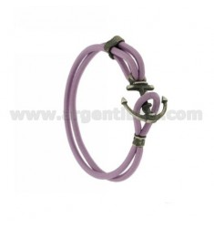 ELASTIC BRACELET WITH LILAC STILL AG BRUNITO TIT 925