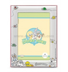 PHOTO FRAME 9X13 BLT FRIENDS OF TWEETY PINK WOOD
