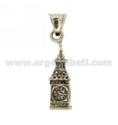 PENDANT BIG BEN IN MONUMENT AG casting BRUNITO TIT 800 ‰