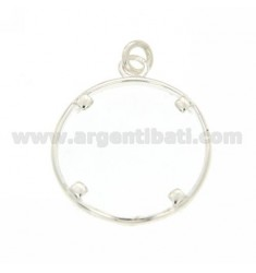 FRAMES FOR SILVER COINS FROM 23 MM 925