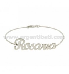 BRACCIALE RIGIDO NONE IN AG RODIATO TIT 925