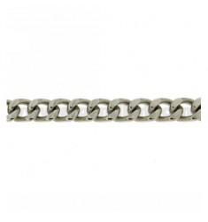 GRUMETTA 8 MM STEEL BRACELET WITH SNAP