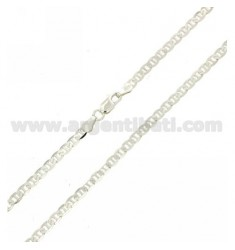 CATENA FIGARO SLIM MM 3 IN ARGENTO TIT 925‰ CM 50