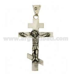 45X27 MM CROSS PENDANT IN AG casting BRUNITO TIT 800 ‰
