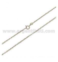 ROLO CADENA &39DIAMOND 2 MM 60 CM PLATA RODIO 925 ‰