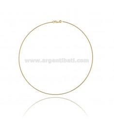 Collar plateado oro DRIVE IN SILVER 1,5 MM TIT 925