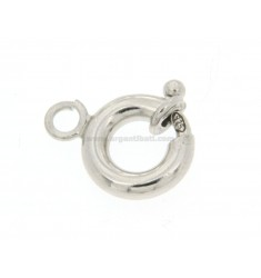6 RING SPRING BARREL ROUND MESH SALD 3.AP.AG IN RHODIUM TIT 92.5