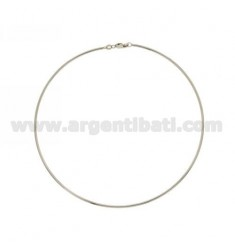 COLLAR DE PLATA RODIO MM 2 TIT 925