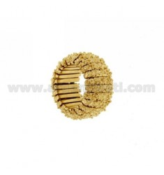 BRONZE RING GOLD PLATED