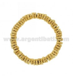 ELASTIC BRACELET GOLD PLATED BRONZE