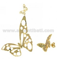 EARRINGS BRONZE GOLD PLATED