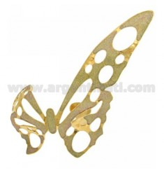 BANGLE GOLD PLATED BIG BRONZE BUTTERFLY