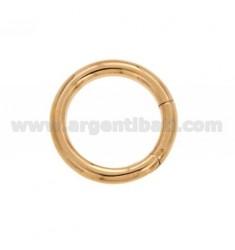 ABSCHLUSS SMARTER 30 MM RUND 4 FASS IN Rose vergoldet AG TIT 925 ‰