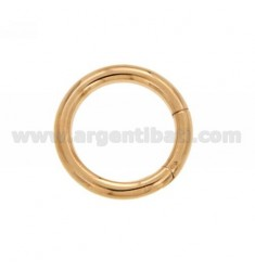 CLOSURE SMARTER 30 MM ROUND 4 BARREL IN ROSE GOLD PLATED AG TIT 925 ‰