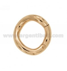 SUSTA INTELLIGENT ROUND SHAPED BARREL MM 28 MM 5 IN ROSE GOLD PLATED AG TIT 925 ‰