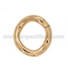 SUSTA INTELLIGENTE rund geformt FASS mm 28 mm 5 IN Rose vergoldet AG TIT 925 ‰