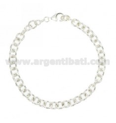 CABLE Armband Silber 140 CM 20 TITEL 925 ‰