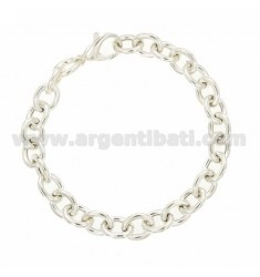 BRACELET EMPTY CABLE 220 CM 20 IN AG TITLE 925 ‰