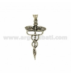 PENDANT CROSS SYMBOL IN PHARMACY MM 52X28 AG microcast BRUNITO TIT 800?