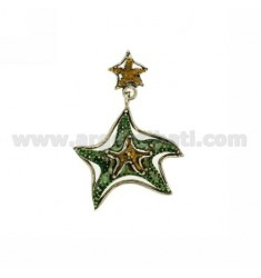 STARFISH PENDANT DUO IN 56X40 MM AG microcast BRUNITO TIT 800?
