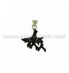 CORAL PENDANT BRANCH IN MM 28x23 AG microcast BRUNITO TIT 800?