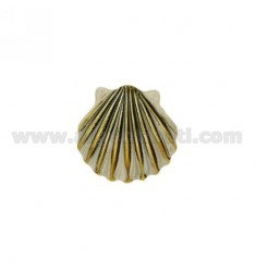 SHELL PENDANT 36x36 MM IN AG microcast BRUNITO TIT 800 ‰