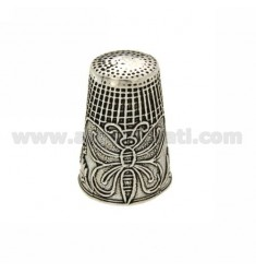 THIMBLE WITH BUTTERFLY 27x18 MM SILVER BRUNITO TIT 800