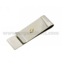 MONEY CLIPS AND STEEL HORSE IN Bilamina GOLD AND BRASS
