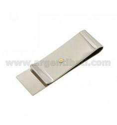 Geld.Clips und Stahl DOT Bilamina in Gold und Messing