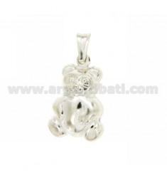 CHARM COUPLED ORSETTO MM 24X16 SILVER TIT 925 ‰