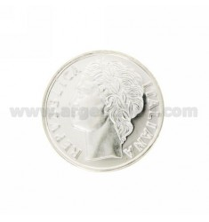 Moneda £ 100 ANNO 2001 DIAMETRO 30 MM PLATA TIT 925
