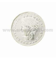 Moneda £ 1000 ANNO 2001 DIAMETRO 30 MM PLATA TIT 925
