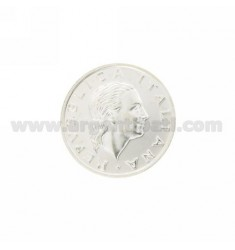 Moneda £ 200 ANNO 2001 DIAMETRO 25 MM PLATA TIT 925
