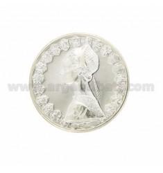Währung £ 500 ANNO 1958 Messer 30 mm SILVER TIT 925