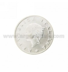 Moneda £ 500 ANNO 2001 DIAMETRO 30 MM PLATA TIT 925