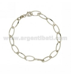 BRACELET TOPS COPS IN SILVER RHODIUM TIT 925 ‰ CM 18