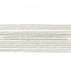 CABLE BRACELET MULTIPLE WIRES IN RHODIUM-PLATED SILVER TIT 925 ‰ CM 19