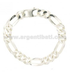 BRACELET 3+1 SLIM MM 12 CM 21 IN AG TIT 925‰