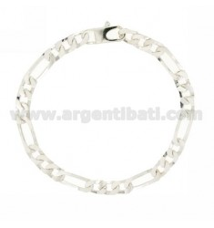 BRACELET 3+1 SLIM MM 6 CM 21 IN AG TIT 925‰
