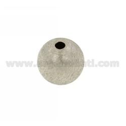 DISTANCE Ball mit Loch 18 MM MM 4 IN AG TIT verkratzt und RHODIUM 925 ‰