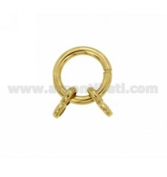 CLOSE SHOT FLEXY DIAM 16 MM 2.5 WITH CANE Ottini AG IN GOLD PLATED TIT 925