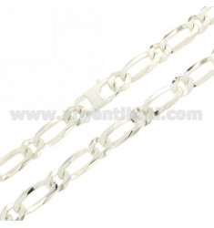 CHAIN 1 1 MM 10 60 CM IN SILVER TIT 925 ‰ CLOSURE WITH SPECIAL
