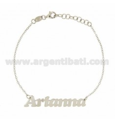 ROLO BRACELET &3918 CM AS NEW ARIANNA Silber Rhodium TIT 925 ‰