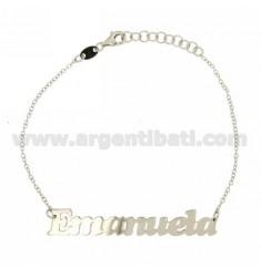 ROLO Armband &39CM 18 AS EMANUELA Silber Rhodium TIT 925 ‰