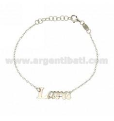 ROLO Armband &39CM 18 AS LARA Silber Rhodium TIT 925 ‰