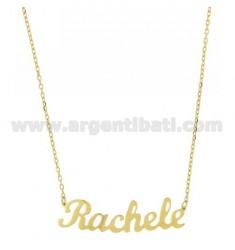 ROLO HALSKETTE &39CM 45 als Rachel Silber vergoldet TIT 925 ‰